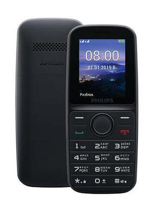 Мобильный телефон Philips Xenium E109 Dual Sim Black (CTE109BK...