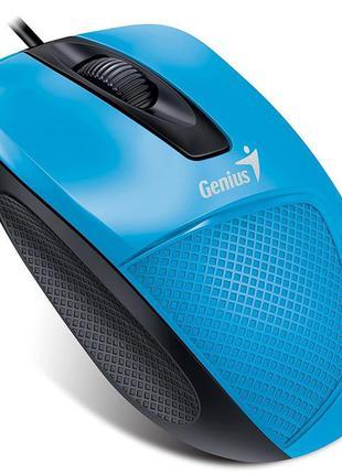 Мышь Genius DX-150X (31010231102) Blue/Black USB