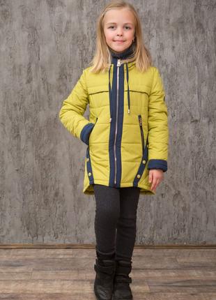 Детская демисезонная куртка для девочки