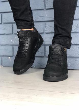 Lux обувь! мужские зимние натуральные качественные ботинки на ...