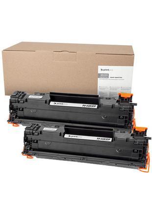 Картридж PrintPro (PP-H283DP) HP LJ Pro M125nw/M127fn Black (а...