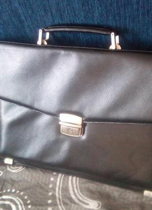 Портфель мужской сумка эко кожаный мессенджер чоловіча