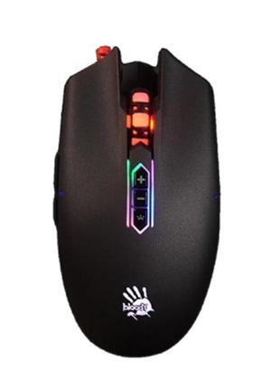 Мышь A4Tech Q80 Bloody Neon XGlide Black USB