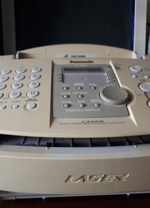 Факс лазерный высокоскоростной  с автоответчиком Panasonik