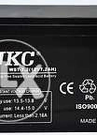 Аккумулятор UKC 12В 12V 7Ah, 9, 12, 33, 65, 100, 120Ah гелиевый