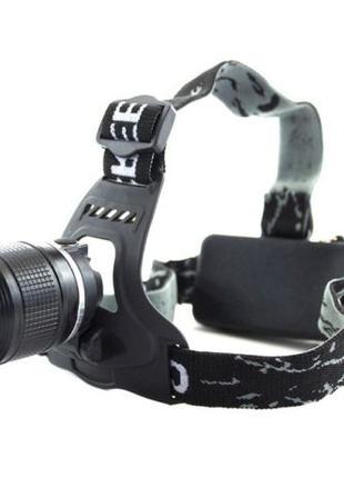 Налобный аккумуляторный фонарь фонарик Police Bailong BL-2199 ...