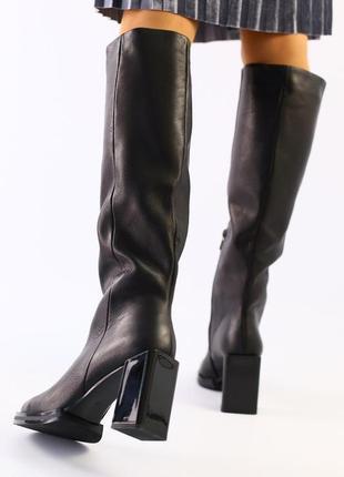 Lux обувь! новинка 😍 крутые стильные натуральные зимние сапоги