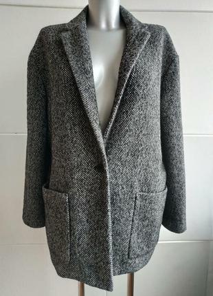 Пальто женское ,пиджак-пальто,короткое,стильное,оригинал,бойфренд