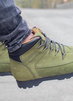 Ботинки timberland olive