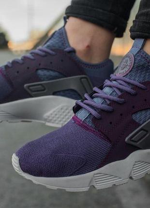 Легкие кроссовки nike air huarache ultra violet распродажа!