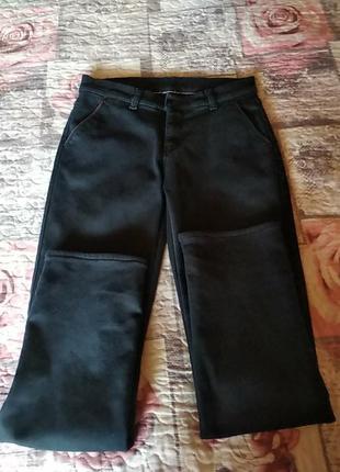Утеплені класичні штани