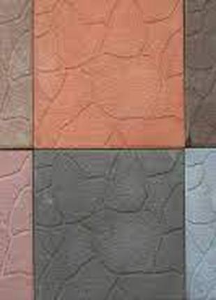 Плитка вибропресованная  300*300*30 в ассортименте цвет