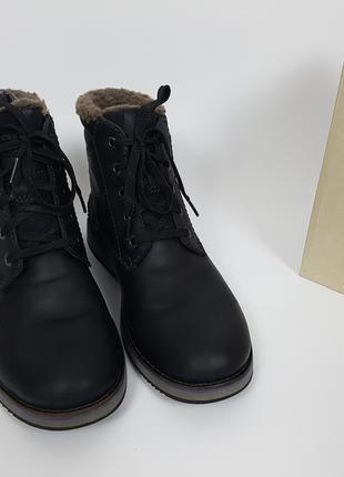 Clarks Lord зимние мужские ботинки 42 размер нубук кожа