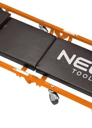 Тележка NEO на роликах для работы под автомобилем 930x440x105 мм