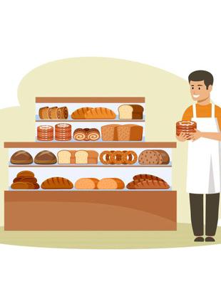 Требуется продавец в хлебный киоск