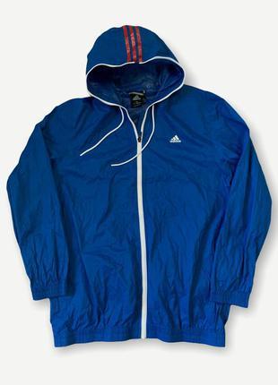 Куртка дощивик ветровка adidas мужская спортивная climaproof