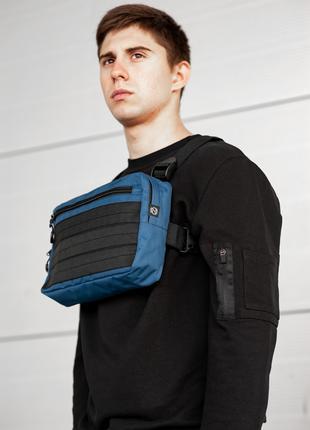 Нагрудная сумка walker dark blue