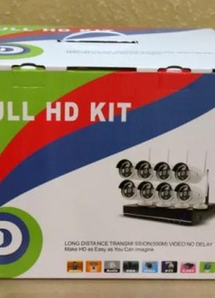 Набор видеонаблюдения (8 камер) (без монитора) WiFi kit (2)