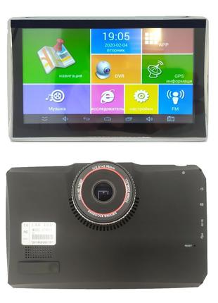 """GPS Навигатор - 7"""" android A7001S+DVR (20)"""