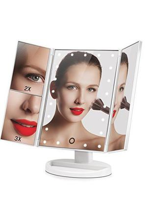 Настольное зеркало с LED подсветкой Superstar Magnifying Mirror