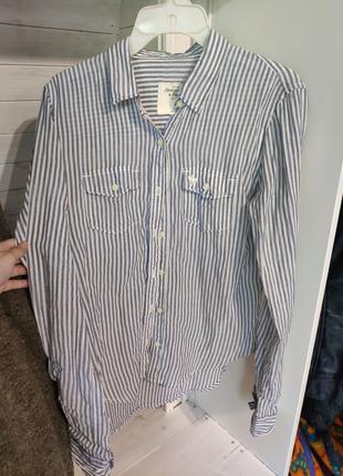 Рубашка Abercrombie & Fitch