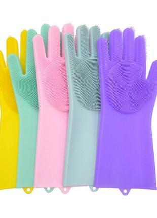 Перчатка для мойки посуды Gloves for washing dishes (W-49) (100)