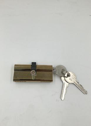 Дверной цилиндр 70 мм 3 ключей