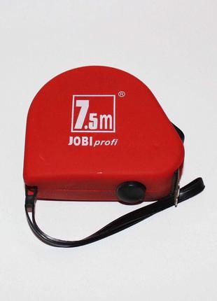 Рулетка Jobi profi 7.5м