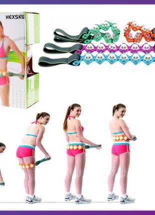 Массажер-лента роликовый Massage Rope (WN-18) (48)