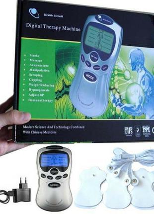 Миостимулятор Digital Therapy Machine ST-688, 2 электрода!