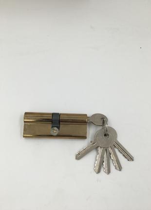 Дверной цилиндр 80 мм 5 ключей