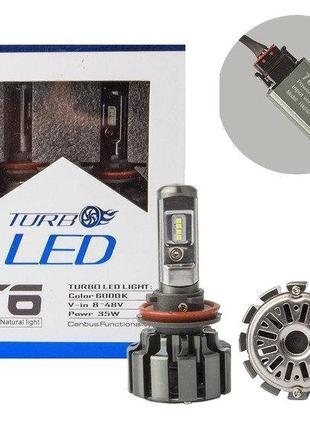 Автолампа LED T6 H4 TurboLed (50)