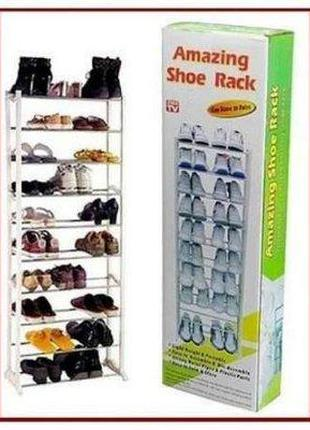 Полка для обуви Shoe rack Amazing Shoe Rack (WM -103) (12)