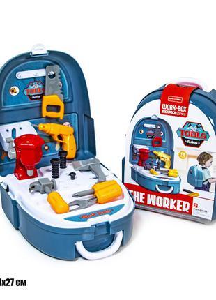 Игровой набор - портфель строителя 7F704