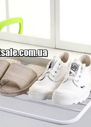 Съемная сушилка для одежды ЗЕЛЕНАЯ Fold Clothes Shelf (40)