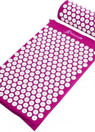 Коврик ортопедический массажный ФИОЛЕТОВЫЙ Acupressure mat с п...