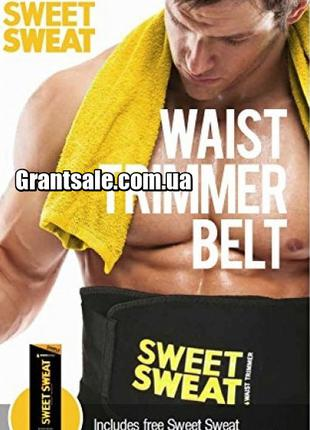 Пояс для Похудения SIZE XL с Компрессией Sweet Sweat Waist Tri...