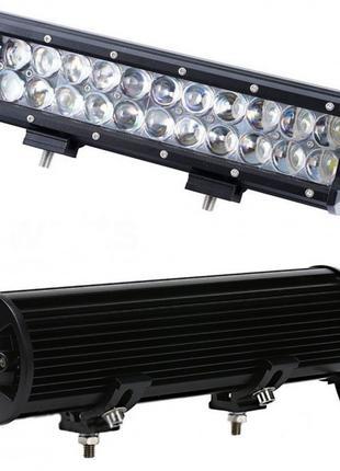 Автофара LED на крышу (24 LED) 5D-72W-MIX (300 х 70 х 80) (6)