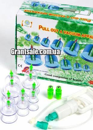 Массажные вакуумные банки для домашней терапии - Pull out a va...