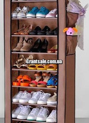 Стеллаж для хранения обуви JBY . TOPY 60 X 30 X 160 на 10 поло...