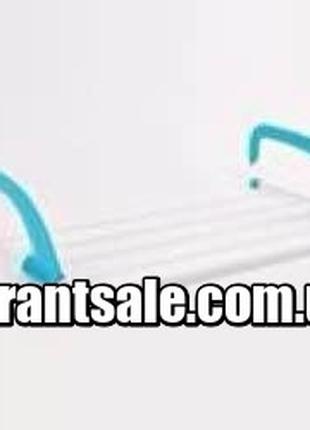 Съемная сушилка для одежды ГОЛУБАЯ Fold Clothes Shelf (40)