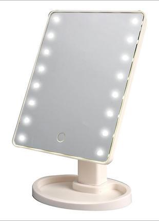 Led mirror зеркало с подсветкой для макиажа (36)