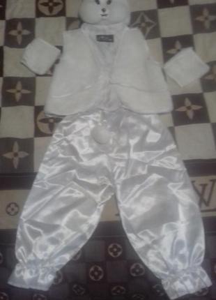 Новогодний кастюм зайца