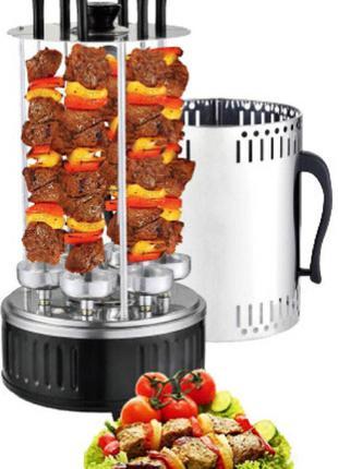 Шашлычница вертикальная электрическая Kebabs Machine на 6 шамп...