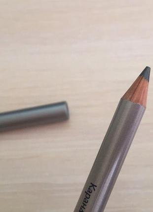 Карандаш-татуаж kajal для глаз, олівець для очей, серебристый ...