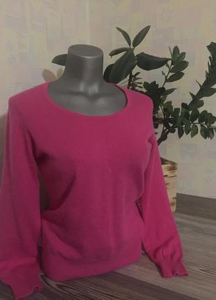 Кашемир и меринос. кашемировый свитер. размер s-m.