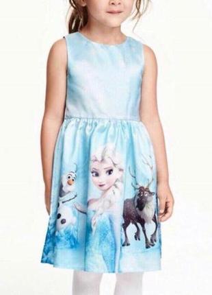 Платье олаф эльза свен фрозен
