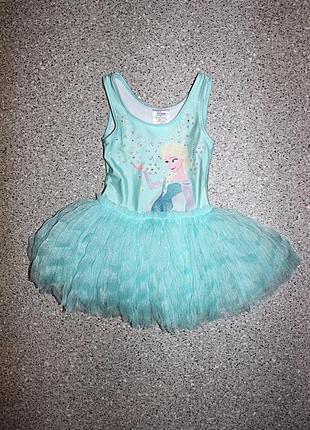 Платье боди эльза фрозен