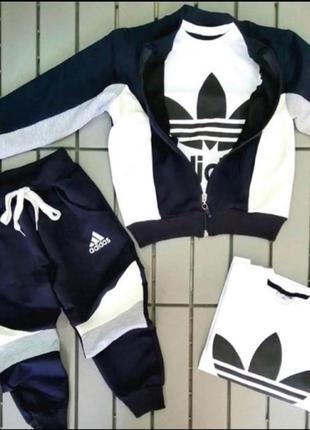 Спортивный костюм тройка с начесом