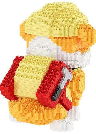 HC magic block щенячий патруль конструктор 3D модель принцип лего